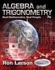 Algebra and Trigonometry: Real Mathematics, Real People by Ron Larson (Hardback, 2015)