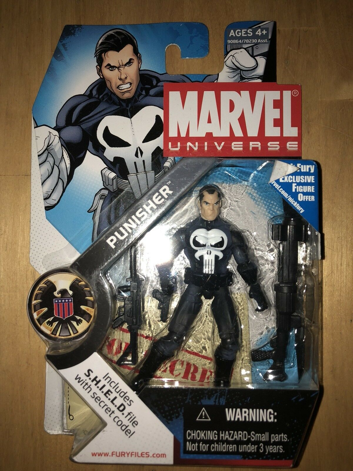 Marvel Universe PUNISHER AF MU 10