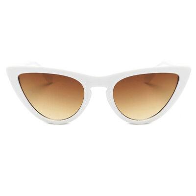 Womens Fashion Vintage Retro Cat Eye Triangle Sunglasses UV400 Eyewear Glasses