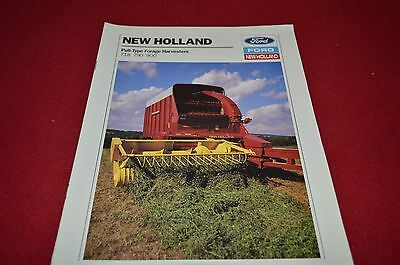 New Holland 718 790 900 Forage Harvester Dealers Brochure DCPA4