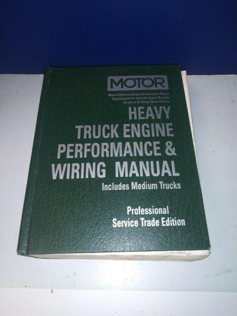 Motor Heavy Truck Engine Performance  U0026 Wiring Manual