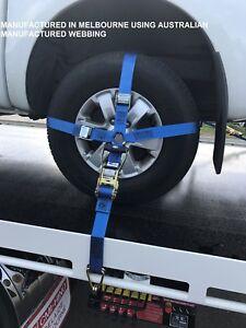 Car-Carrying-Ratchet-Tiedown-Trailer-Car-Wheel-Harness-Car-Restraint