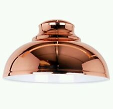 Retro Copper Metallic Kitchen Galley Pendant Shade 29cm x 17cm Lightshade