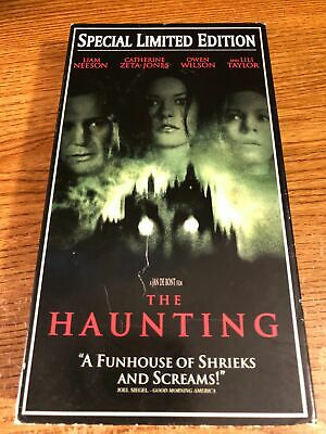 The Haunting VHS VCR Video Tape Movie Liam Neeson Owen ...