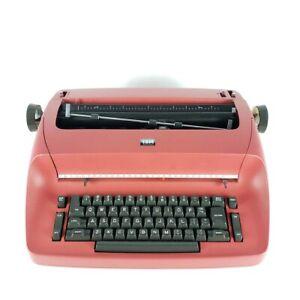 Red IBM Selectric Typewriter for Parts / Repair - Needs Work (40)