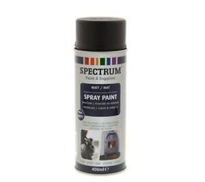 Peinture-en-Aerosol-NOIR-MAT-Haute-Temperature-800-c-Max-400ml-feu-pot-etc