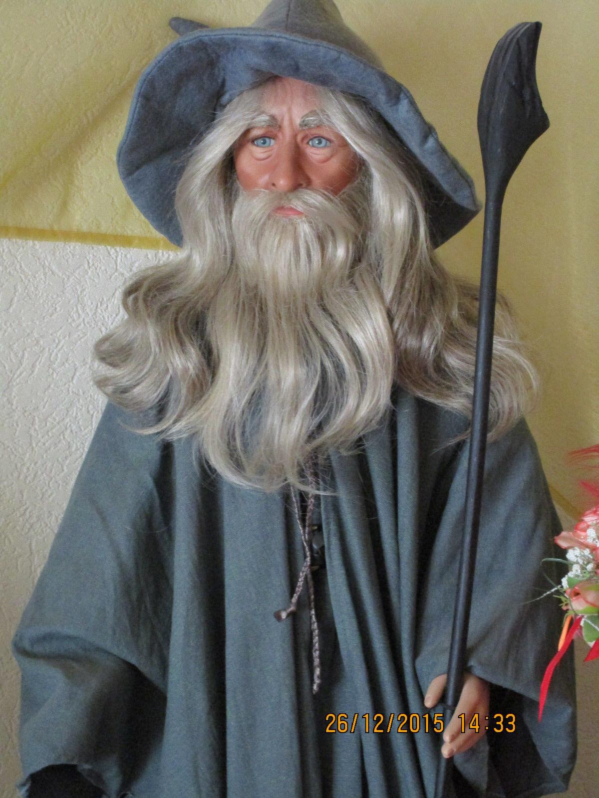 signore degli anelli  portätpuppe/artisti BAMBOLA  Gandalf  RAR