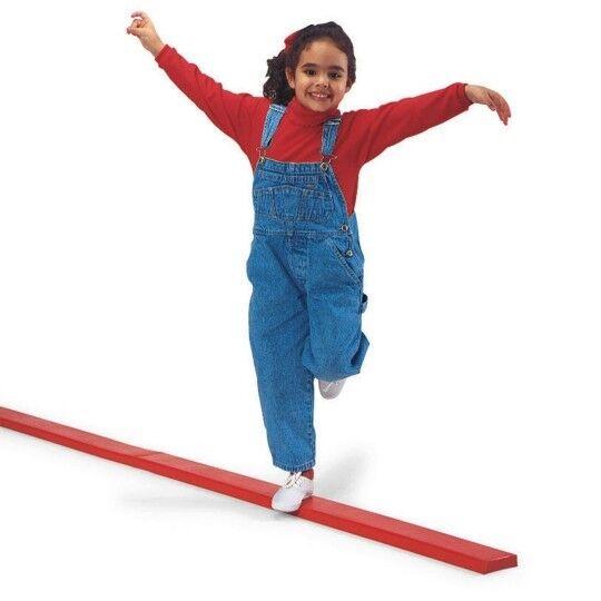 FOLDING Gymnastics Balance Beam 8ft Cheerleading Wobble Balance Board SECOND