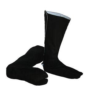 Playwell Ninja Innen- Wildledersohle Tabi Schuhe Erwachsene Kampfsport Stiefel