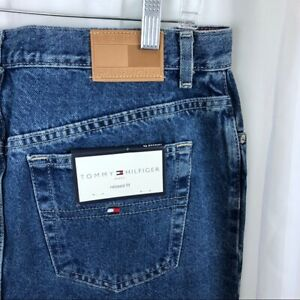 Details about Tommy Hilfiger Deadstock VTG Womens high rise tapered relaxed fit mom jeans 16R