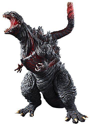 Neu Ultra-Intense Körnung Serie Shin Godzilla PVC Bemalte Figur 300mm