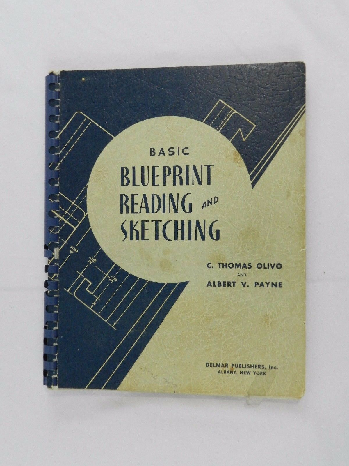 2 vintage blueprint reading sketching basic course books 1952 2 vintage blueprint reading sketching basic course books 1952 delmar malvernweather Gallery