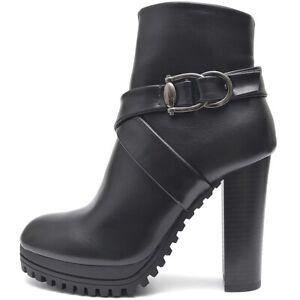 Senora-botines-botas-de-plataforma-tacon-alto-negro-cremallera-suela-perfil