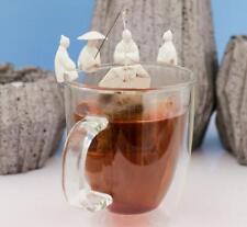 4 PC Chinese Japanese Fisherman Tea Bag Holder Infuser Kitchen Gift Gadgets