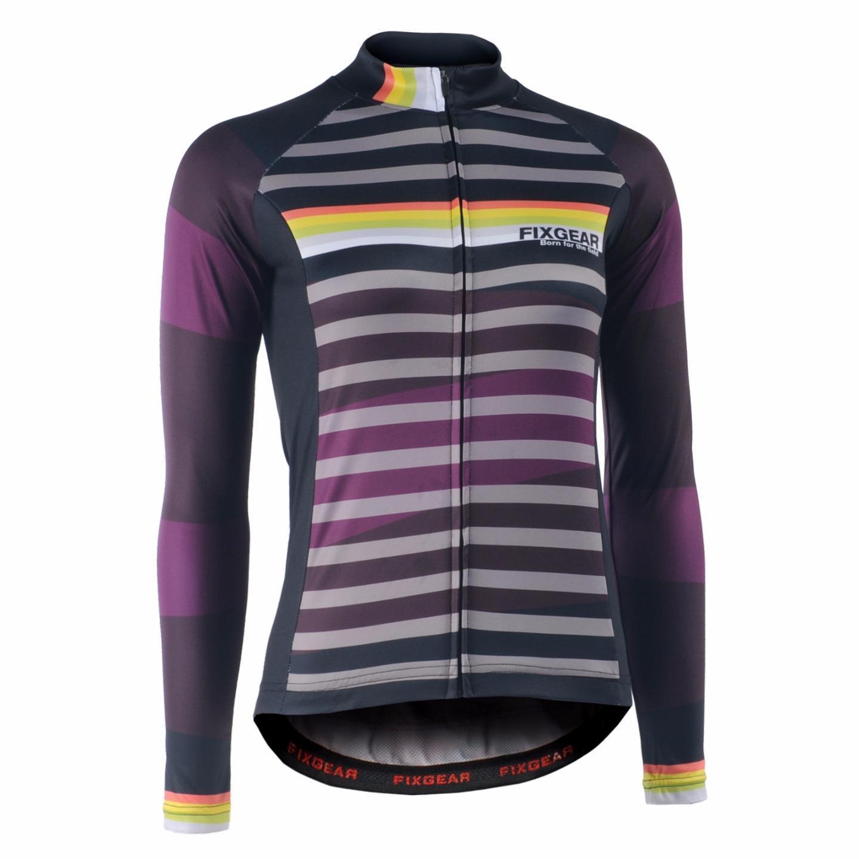 FIXGEAR CS-WH701 Women's Long Sleeve Cycling Jersey Bicycle Apparel Roadbike MTB