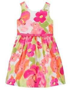 NWT-Gymboree-Family-Brunch-Floral-dress-special-Occassion-Wedding-Easter-Girls