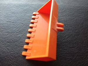Lego Duplo Back Hoe Bucket orange
