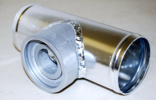 """For HKS SSQV SQV BOV Blow Off Valve Tube 2.5/"""" 2 1//2 Inch Flange Adapter Piping"""