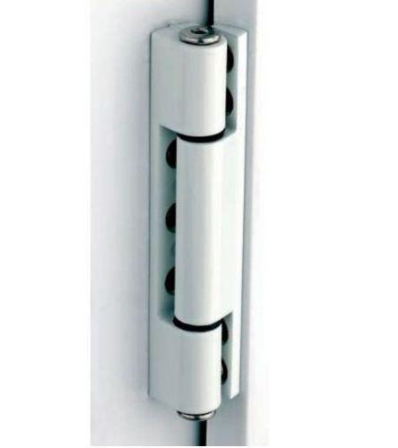 X3 upvc door butt hinge available in flat angled white for Upvc door hinges