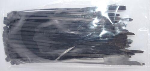 Kabelbinder  4,6 x 370mm  schwarz      100 Stück