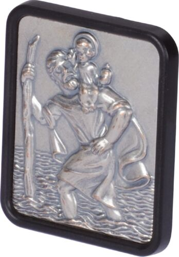 RICHTER St. Christophorus Plakette 4 x 3 cm mit Klebepad HR-IMOTION 102 104 01