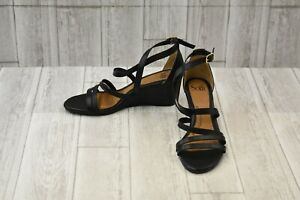 ae8f6e842bf Image is loading Sofft-Mecina-Wedge-Sandal-Women-039-s-Size-