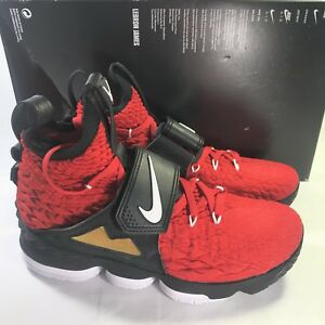 11e3bad682 Nike Lebron XV 15 Prime Diamond Turf AO9144-600 Red Deion Men's Size ...