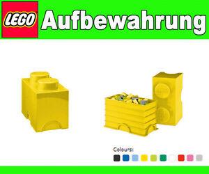 Scatola-Box-Conservazione-LEGO-2-Mattoncino-Giallo-XL-Duplo