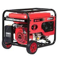 A-iPower 4,000 / 5,000 Watt Gasoline Powered Generator with Manual Start  NEW