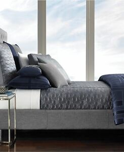 Hotel-Collection-Gray-Quilted-Coverlet-Full-Queen-Quadre-Fog-Grey
