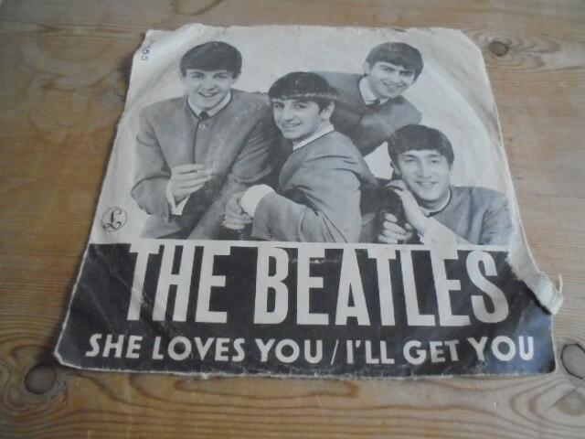 Single, The Beatles , she loves You, Pop, b/w I'll get…