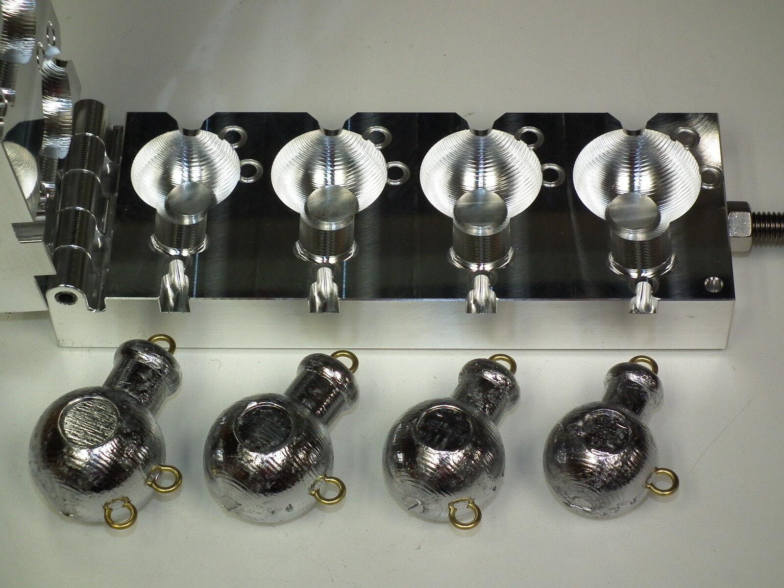 Saltwater Cbal Mojo mold 10, 12, 14, 16oz CNC Aluminum