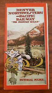 Denver-Northwestern-amp-Pacific-Railway-Moffat-Road-1909-Pictoral-Folder-Brochure