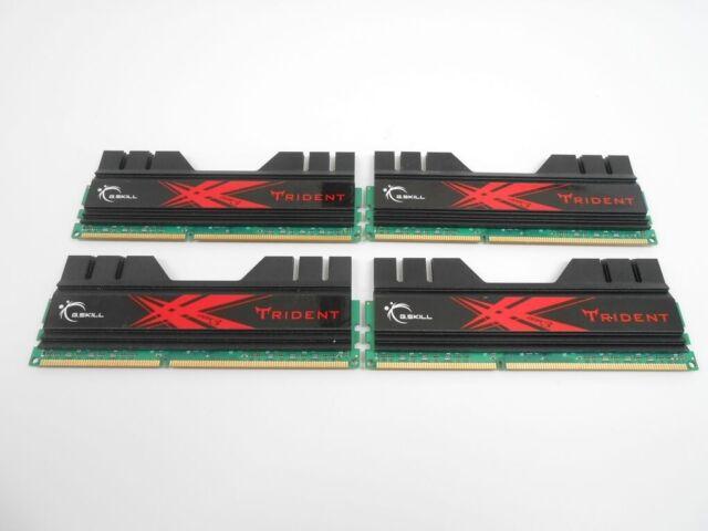 SKILL F3-12800CL9D-8GBRL DDR3-1600 G 2x4GB PC3-12800 Memory Pair