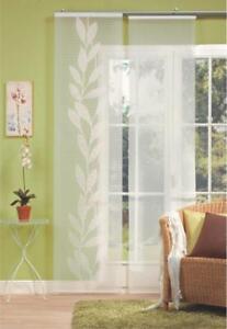 3-Waschbare-Flaechenvorhang-Schiebevorhang-Schiebegardinen-Vorhang-Stoffe