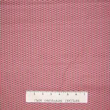 Calico Fabric - Marabella Pink Triangle Stripe - Free Spirit YARD