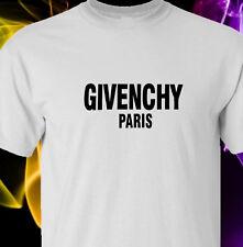 Bold Text black logo Unisex S-2XL - white tshirt Givenc*y Paris