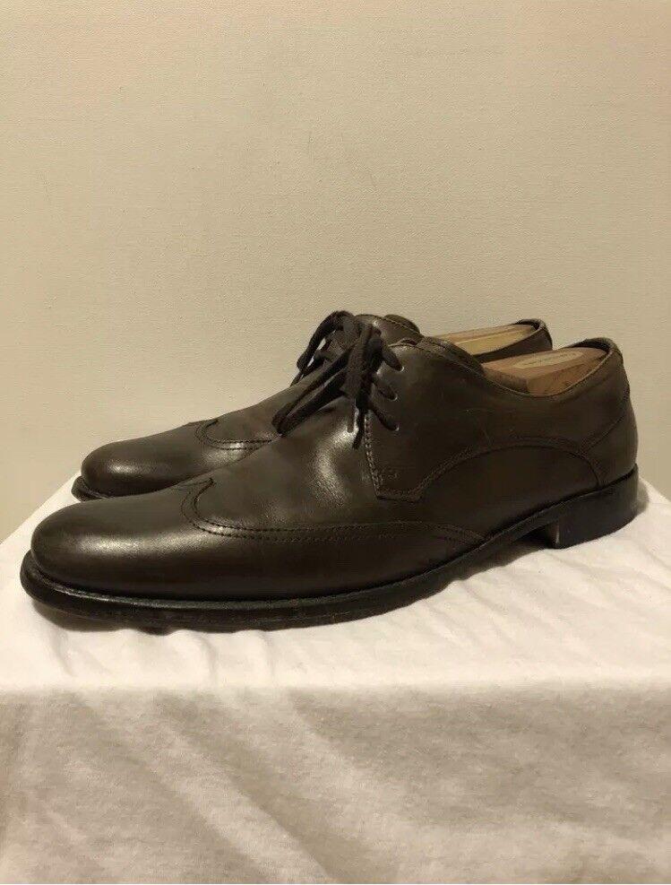 John Varvatos Brown Oxford shoes Size 9.5