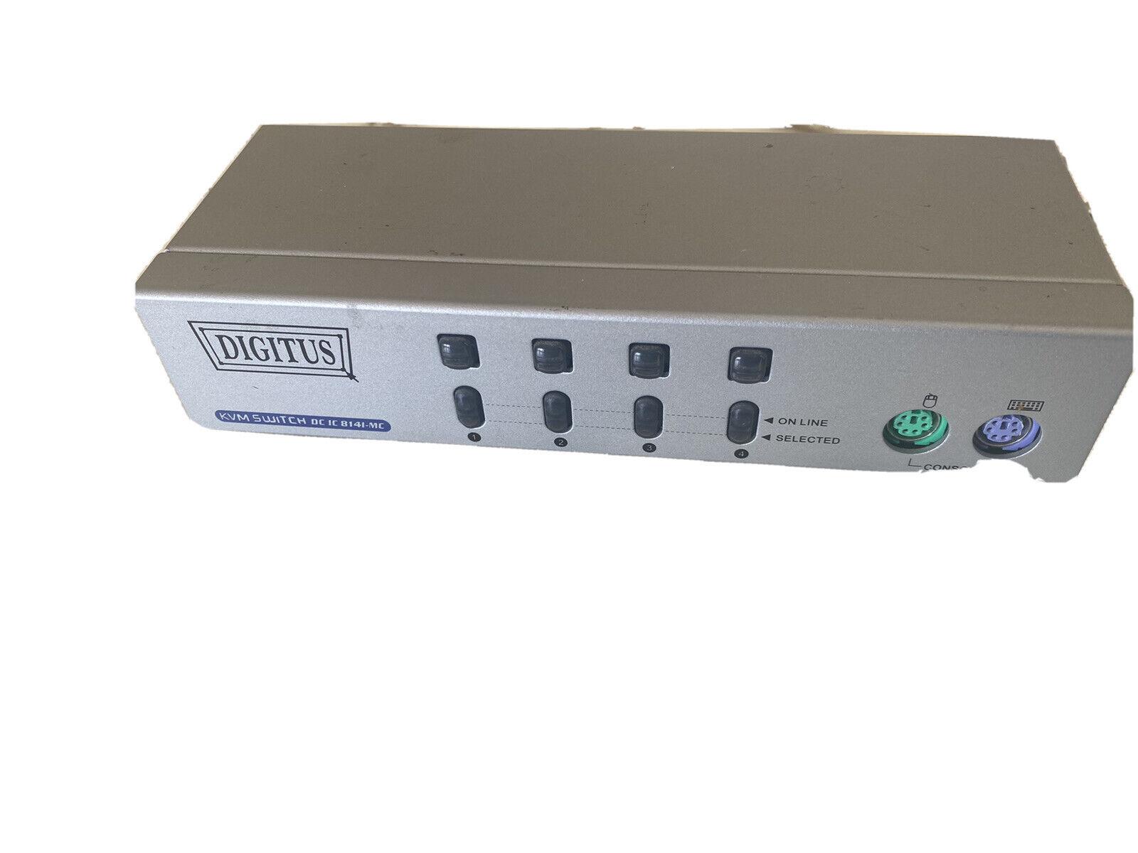 KVM Switch Model DC 8141