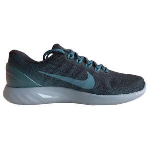 best loved 77f34 af07a Image is loading Nike-Men-LunarGlide-9-IX-Running-Shoes-black-