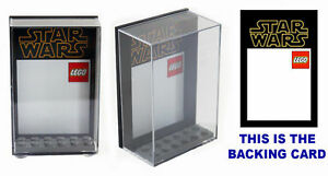 Lego TC-14 Protocol Droid Display Case keep your minifig safe and dust free!