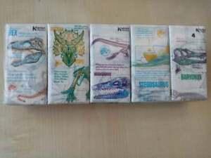 Fazzoletti-da-collezione-JURASSIC-WORLD-gadget-Jurassic-Park-10-pezzi