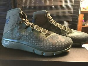 44b0ecd4 Under Armour Project Rock Delta DNA Green Mens Trainer Shoes 3020175 ...