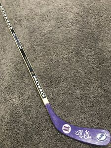 quality design 581e3 c7c91 Details about J.T. JT MILLER Tampa Bay Lightning SIGNED Hockey Fights  Cancer Stick w/ COA