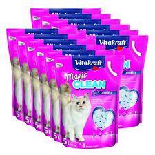 VITAKRAFT Litière pour chat Magic Clean Lavande 12 x 5 Litres 60L sans poussière