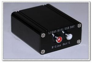 HIFI-L1543-DAC-four-parallel-TDA1543-fever-USB-decoder