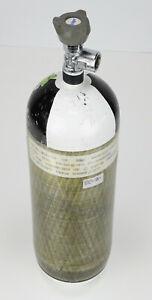 Dräger 6 Liter 300 bar CFK Atemluftflasche Pressluftflasche / Composite Bottle