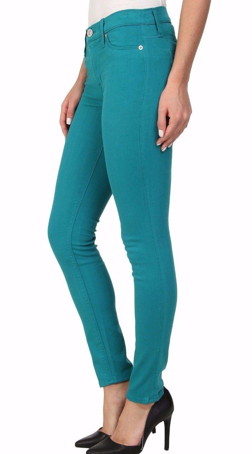 Nwt Hudson Sz30 Collin Midrise Super Skinny Stretch Jeans In