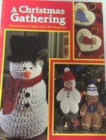 A Christmas Gathering Leisure Arts Magazine Crafts Cross Stitch
