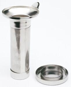 Teesieb für Thermoskannen Abtropfschale Teefilter